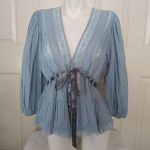 """Free People gorgeous """"Sky"""" Top"""